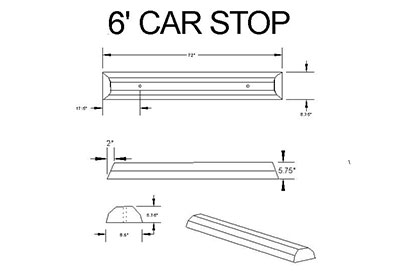 6-foot-carstop